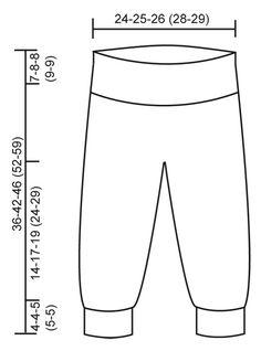 Pantalón DROPS en punto musgo con Merino Extra Fine. Patrón gratuito de DROPS Design.