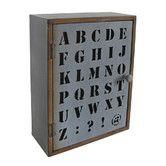 Found it at Wayfair - Alphabet Wall Cabinet