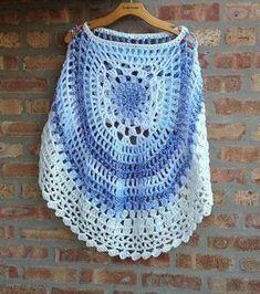 Crochet Round Poncho