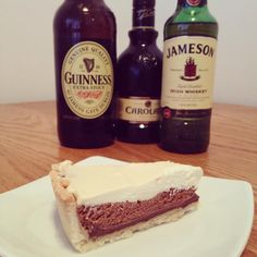 Irish Car Bomb Pie with recipe. Perfect for St. Patrick's Day!