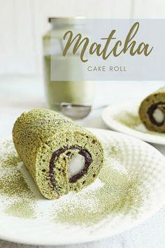 Yummy Matcha Roll Matcha Tea Powder, Matcha Cake, Organic Matcha, Anime Akatsuki, Japanese Sweets, Tea Cakes, Kebaya, Yummy Cakes, Pastries