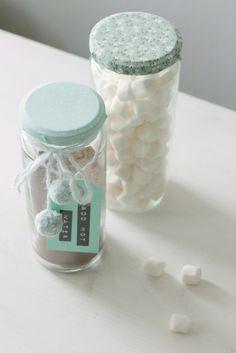 direction tags on food gifts - via Lidyll