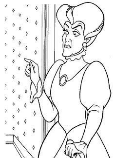 1000 images about Cinderella Coloring Pages on Pinterest
