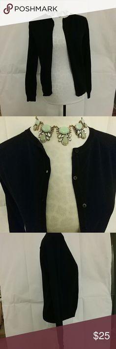 Selling this Zara black button-up cardigan on Poshmark! My username is: stewmcg. #shopmycloset #poshmark #fashion #shopping #style #forsale #Zara #Sweaters