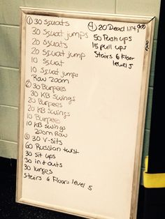 Did this last night at bootcamp. 3 rounds of everything.. #toughbutworthit