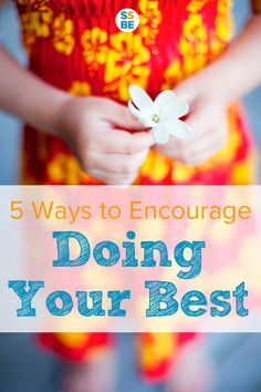 Do you encourage your child to keep practicing at something, but to no avail? Regular practice isn't enough—kids need to learn deliberate practice to improve. Here are 5 tips to encourage your child to keep doing her best and focus on growth.