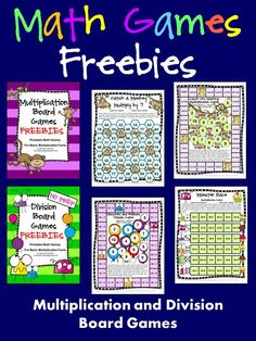 Math games 471752129699681184 - FREEBIES – Multiplication and Division board games with the CUTEST little monkeys and monsters! Math Board Games, Fun Math Games, Math Activities, Math Resources, Logic Games, Dice Games, Math Teacher, Math Classroom, Teaching Math
