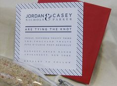 The Hamptons : Letterpress Wedding Invitation Suite - Private Label Semi-Custom. $710.00, via Etsy. - #paisleydogpress