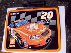 HTF  Tony Stewart (retired) Home Depot #LunchBox  ~  NWT!   Displayed only!! #HomeDepot #NASCAR #TonyStewart #makeoffer