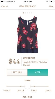 This would be great with colored denim - I already have the perfect jeans to wear it with. Try Stitch Fix: https://www.stitchfix.com/referral/5054932