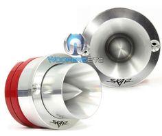 Save $ 100 order now VX1-ST – Skar Audio 1″ Bullet Neodymium Titaniu