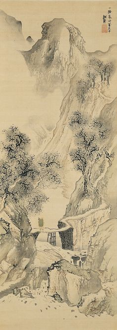 famous japanese nature paintings - Google Search