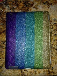 Glitter iPad Case on Etsy, $60.00