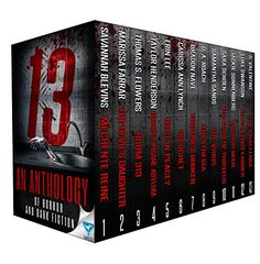 13: An Anthology Of Horror and Dark Fiction by Savannah B... https://www.amazon.com/dp/B01LZ8JEHP/ref=cm_sw_r_pi_dp_x_aELoybDX2T426