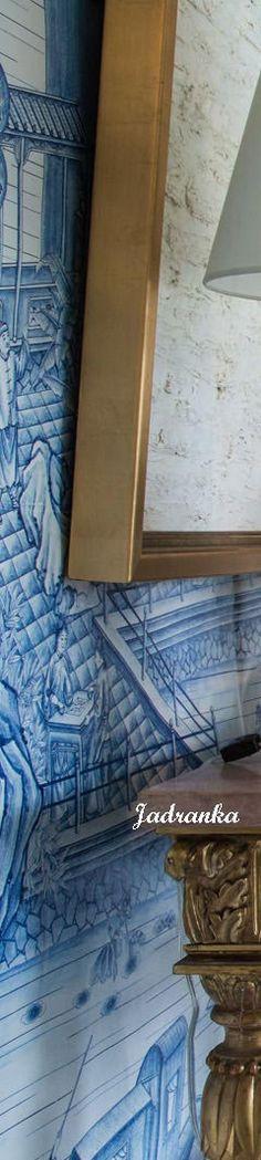 1/6 #Delftblue #inspiration #homedesign #flowers #livingroom #decor #bluewhite #Jadranka Design Your Dream House, House Design, Single Image, Delft, Dreaming Of You, Puzzle, Blue And White, Shades, Navy