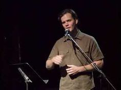 "I am a slam poet. Taylor Mali is my poetic idol.   Great to use for my Middle School Study Skills Section. ""The The Impotence of Proofreading,"" by TAYLOR MALI"