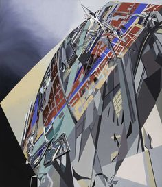 How Architecture Is Born: 8 Abstract Paintings by Zaha Hadid and the Buildings They Inspired - Architizer