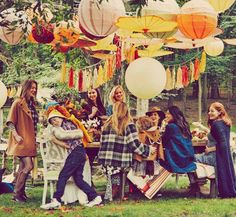 Blake Lively Had the Perfect Fall Baby Shower—See the Pics! via @WhoWhatWear