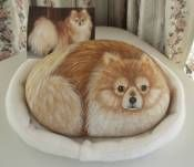 Your Dog Painted On a Rock or Stone
