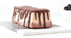 Chocolate-Almond Banana Ice Cream Semifreddo Recipe