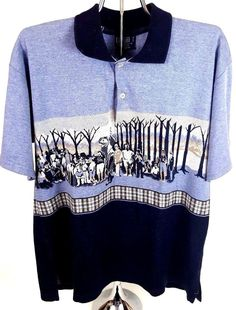 Ralph Lauren VTG Polo Golf Mens sz Medium Short Sleeve Shirt Vintage Rare  Soft  PoloRalphLauren ad89e5eaf
