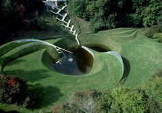 Jencks3- The Garden of cosmic speculation in England-- only open to public 5 hours a year