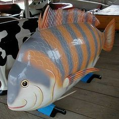 Or how about this cheeky striped fish?