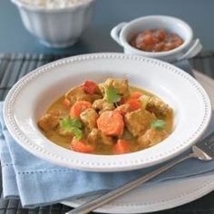 Slow Cooker Chicken Curry @ http://allrecipes.co.uk