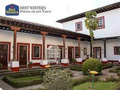 EL MEJOR HOTEL DE PÁTZCUARO. En Best Western Posada de Don Vasco, le ofrecemos las instalaciones más cómodas para que disfrute de la tranquilidad de los alrededores de Pátzcuaro. Le invitamos a realizar su próxima reservación con nosotros al correo electrónico reservaciones@hostales.com.mx y vivir una experiencia única en una de las regiones más visitadas del estado de Michoacán. #hotelenpatzcuaro