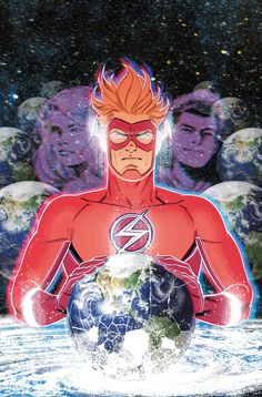 The Flash turns DCeased returns, Alfred is eulogized and Superman's identity reveal fallout spreads across the DCU in February's solicitations. Kid Flash, Flash Art, Dc Speedsters, Supergirl Tv, Brian Michael Bendis, Univers Dc, Wally West, Dc Comics Art, Comics Universe