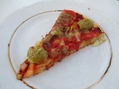 today i'm blogging photos and a recipe for amazingly easy to make vegan pizza!  click here to read and see more: http://www.strangeness-and-charms.com/2014/07/vegan-love-homemade-vegan-pizza.html