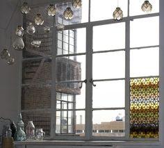 Double Honeycomb Window | Bespoke Glass
