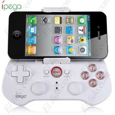 Controlador inalámbrico marca IPEGA - Bluetooth para el iPhone / iPad / iPod Hot Ipega Black Wireless Bluetooth 3.0 Game Controller for Android iOS PC ect game pod Phone4