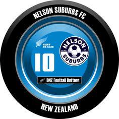 DNZ Football Buttons: Nelson Suburbs FC