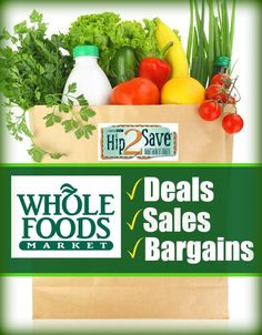 Looking for the latest Whole Foods coupons? Find out great deals, sales and bargains from Whole Foods. Whether you're a beginner couponer, or look for fresh ways to save money for your family, Hip2Save.com has got you covered.