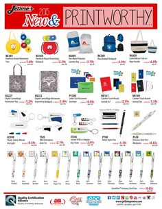 2015 New & Printworthy Products from Jetline! @jetlinepromo #promoproducts