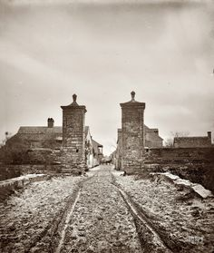 City gates of St. Augustine, Florida, 1865