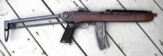 Iver Johnson Enforcer SBR: A light rifle made out of spare M1 carbine parts. This looks like a sort of gun a stalker or mercenary would like! I like it myself.