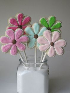 DAISY is that you Sugar cookie pops Vanilla Lemon or by justcrumbs, $23.50