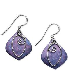 Jody Coyote Patina Bronze Earrings 361bf02d489
