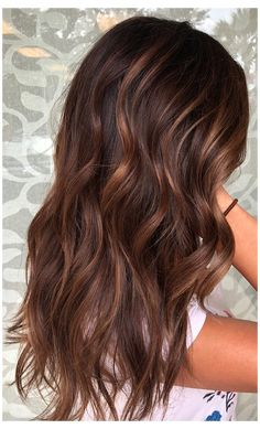 chocolate brown hair with red tint