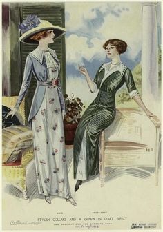 1912 - afternoon dress