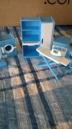 vintage dolls house laundry set jean west germany ? | eBay