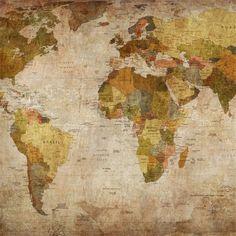 World Map sur Au Fil des Couleurs