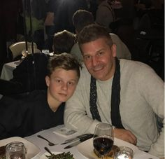 dbdbo69 Start of a hockey tournament and the best part is the bond with my son. #FatherSon love you @jaden.boreanaz #moments (Instagram 13 January 2017)