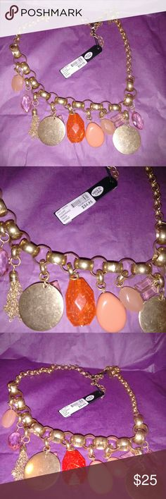 🎉$1.95 Shipping today🎉Statement Necklace Beautiful New Necklace Lane Bryant Jewelry Necklaces