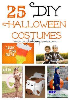 25 DIY Halloween Costumes (Click Image)