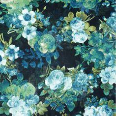 "Fabric Boutique - 774 N Pacific Hwy, Woodburn, Oregon - Black green, <p>60"" wide chiffon</p>"