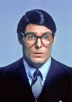 Christopher Reeve as Clark Kent/Superman (DC Comics). Clark Kent, Christopher Reeve Superman, Superman And Lois Lane, Superman Man Of Steel, Movie Photo, Movie Tv, Film Mythique, Dc Comics, Superman Movies