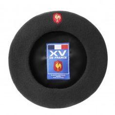 Béret Officiel du XV de France - Noir - Laulhère